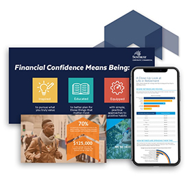 collage of Suntrust collateral
