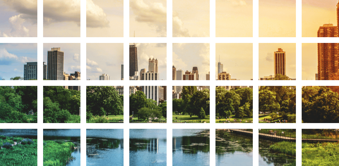 a landscape image of the Chicago skyline
